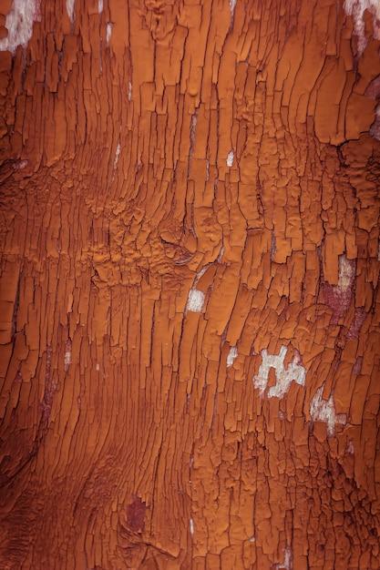 Pintura naranja vieja agrietada en la pared de textura | Descarga ...