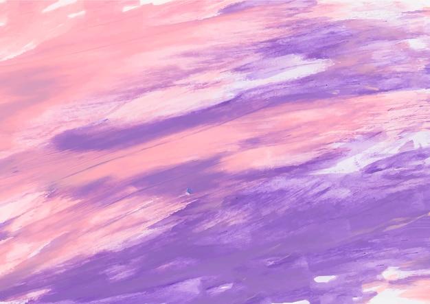 Pintura rosa y morada. Foto gratis