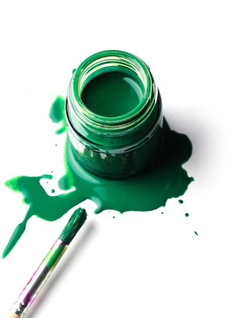 Pintura verde Foto gratis