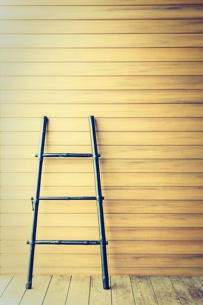 piso de la pared patrn de madera de la escalera foto gratis