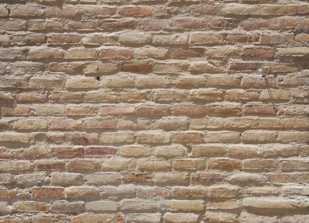 Plantilla de pared de ladrillo de edad de color beige | Descargar ...
