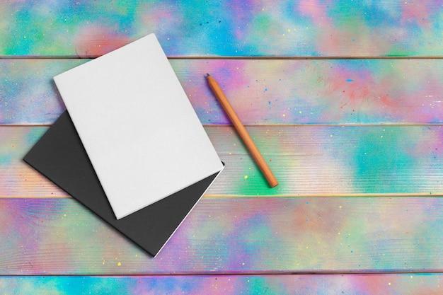 Plantilla de identidad corporativa, conjunto de papelería en blanco. simulacros de marca Foto Premium