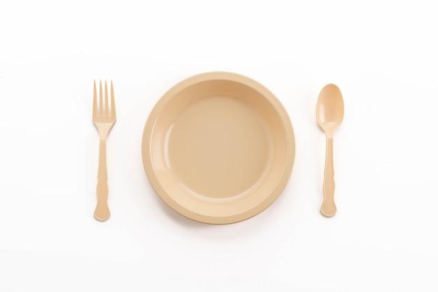 Plato de pl stico cuchara tenedor y cuchillo descargar for Plato tenedor y cuchillo