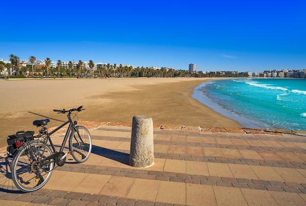 Playa de salou llevant levante platja tarragona Foto Premium