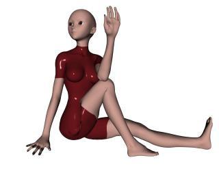 pose de yoga, estiramiento, imágenes prediseñadas Foto Gratis