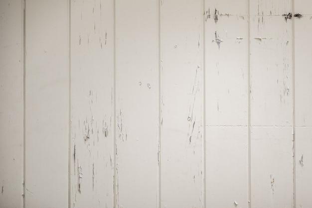 Primer disparo de una superficie de madera blanca - genial o de fondo o un blog Foto gratis