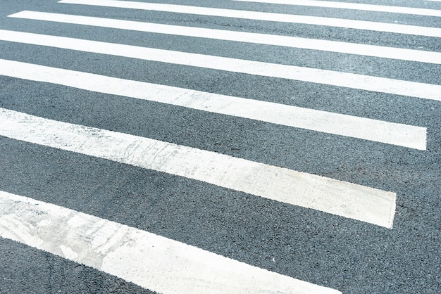 Primer paso de peatones Foto gratis