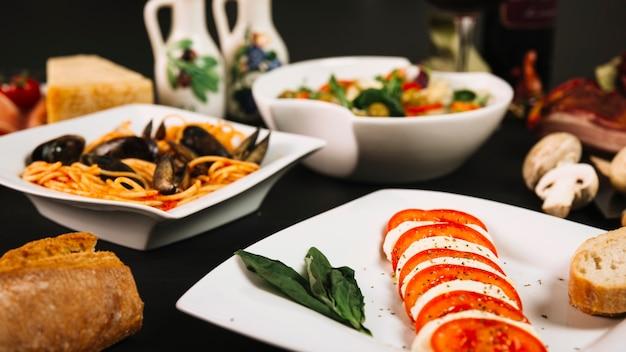 Resultado de imagen para comida mediterranea fotos