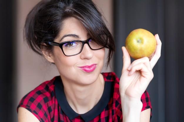 Fondo Con Manzanas Fotos y Vectores gratis