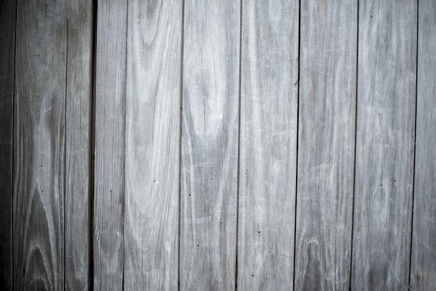 Primer plano de una pared hecha de tablones de madera gris vertical antecedentes Foto gratis
