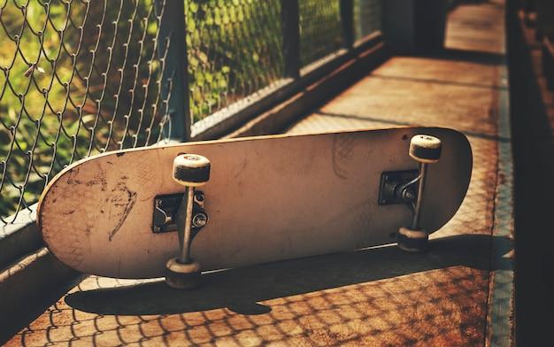 Primer plano de sakteboard Foto gratis