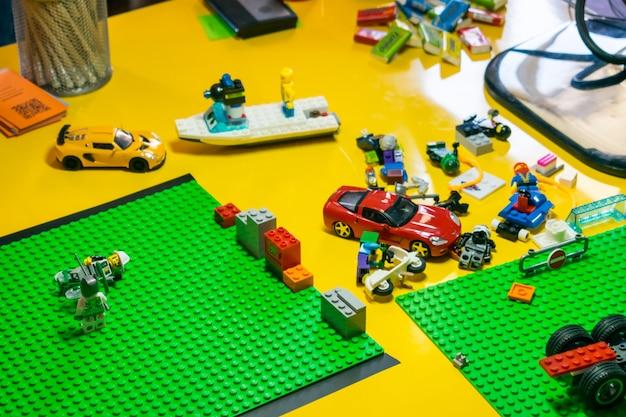 Lego Motion Detalles Coches Proceso Y Animación De Stop Con EHW2ID9Y