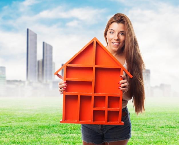 Protección de la emoción humana hogar familiar Foto gratis