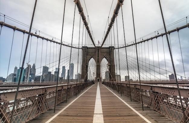 Puente de la ciudad de nueva york Foto Premium