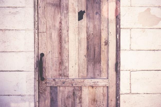 puerta de madera rstica foto gratis - Madera Rustica
