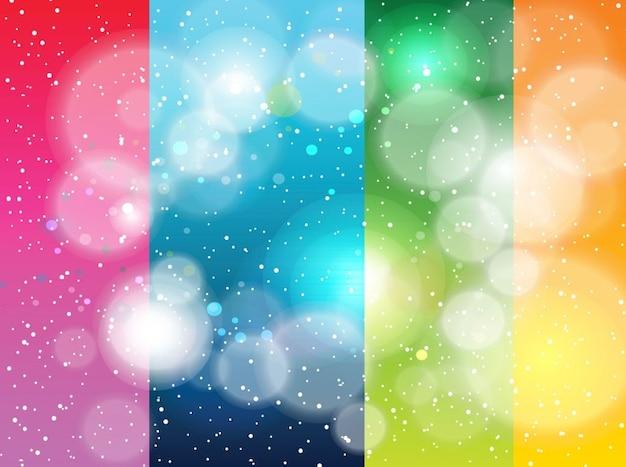 Rainbow rayas galaxia fondos fresco | Descargar Vectores gratis