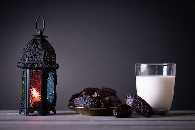 Ramadan comida y bebidas Foto Premium