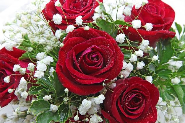 Ramo de rosas Foto Premium