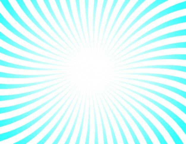 Rayos de sol retro con las rayas azules y blancas   Descargar ...