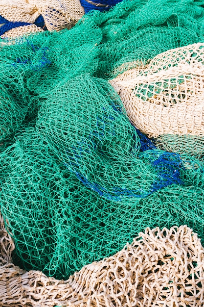 Redes de pesca Foto Premium