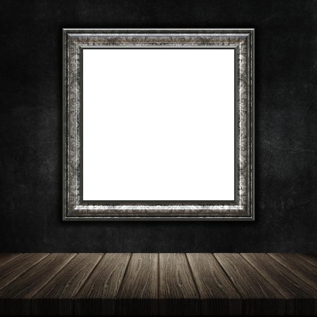 Render 3d de un marco de fotos grunge | Descargar Fotos gratis