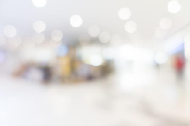 Resumen borrosa y bokeh centro comercial y tienda de venta al por menor Foto gratis