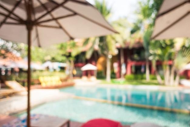 Resumen borroso piscina Foto gratis