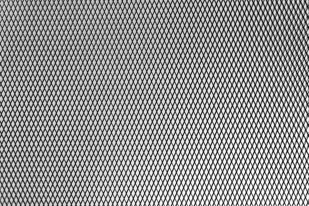 Resumen fondo geométrico metálico. malla metálica Foto Premium
