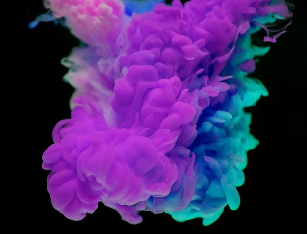 Resumen de nube morada y azul Foto gratis