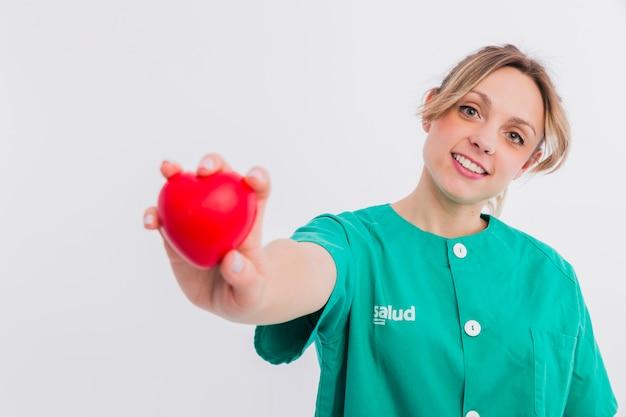 Retrato de enfermera Foto gratis
