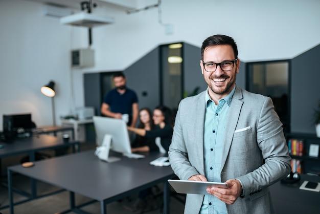 Retrato de un líder exitoso. Foto Premium