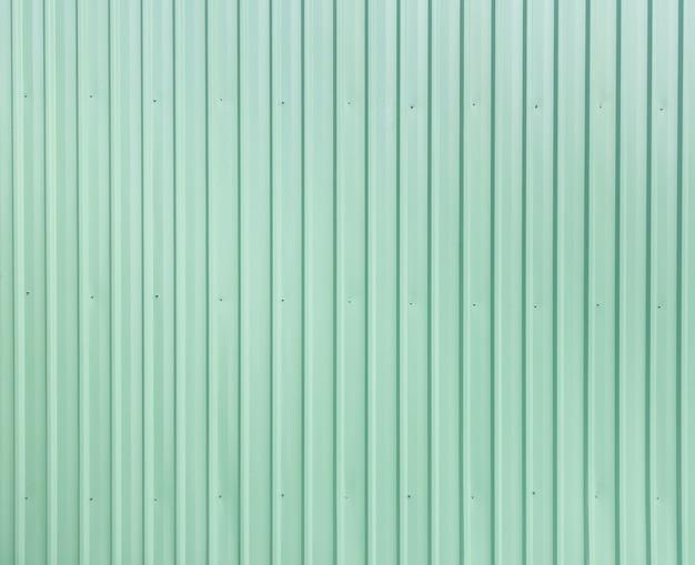 Revestimiento de chapa verde del edificio Foto Premium