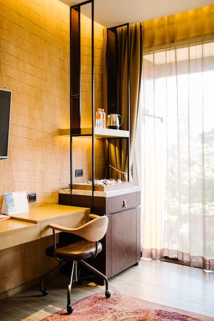 Rincón de relax en la habitación Foto gratis