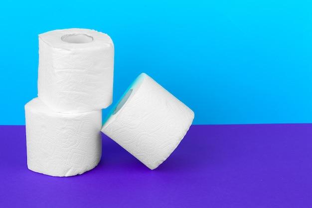 Rollos de papel higiénico Foto Premium