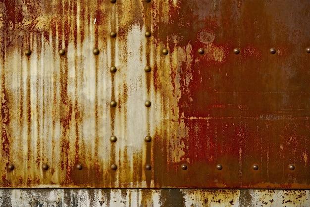 Rust sobre fondo de metal Foto gratis