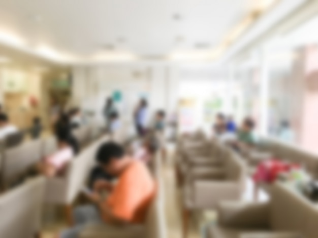 Sala de espera con sillones borrosos descargar fotos gratis - Sillones sala de espera ...