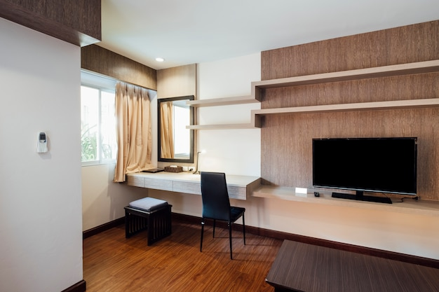 Sala de estar en el apartamento Foto gratis