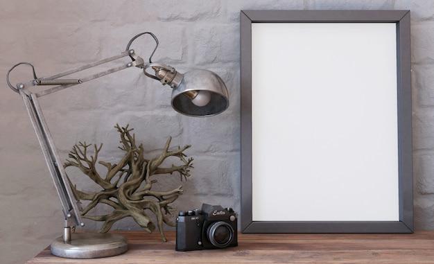 Sala de estar contemporánea 3d interior y muebles modernos Foto gratis