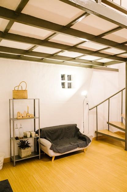 Sala de estar estilo lindo Foto gratis