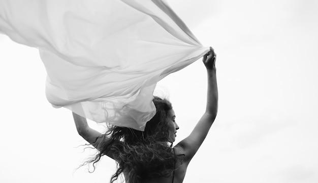 Salvaje y libre como el viento Foto gratis