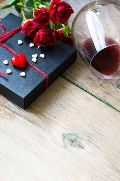 San valentín en estilo vintage Foto Premium