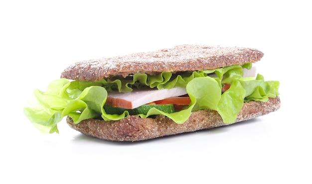 Sándwich delicioso Foto gratis