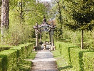 Sendero del jard n estatuas descargar fotos gratis for Estatuas jardin