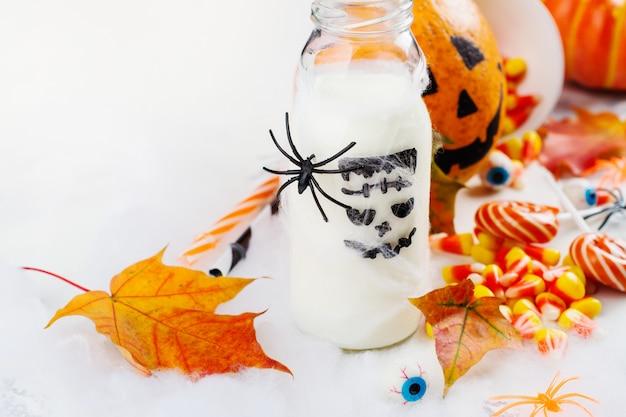 Set de fiesta de halloween Foto Premium