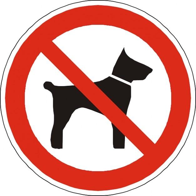 Resultado de imagen de no mascotas señal