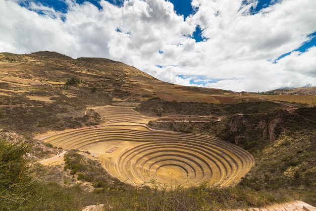 El Sitio Arqueológico De Moray Destino De Viaje En La