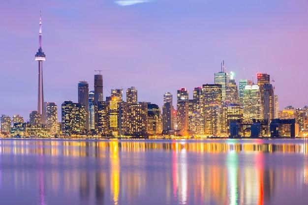 Skyline de toronto Foto Premium