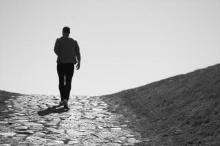 sombra humana, cielo Foto Gratis