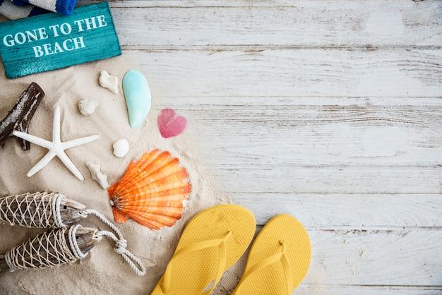 Summer chill collection concepto fresco de ocio colorido Foto gratis