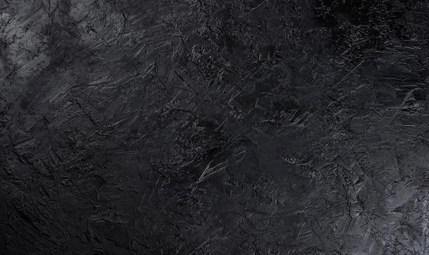 Superficie de piedra negra Foto Premium